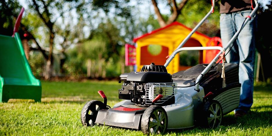 lawn mowing hazards