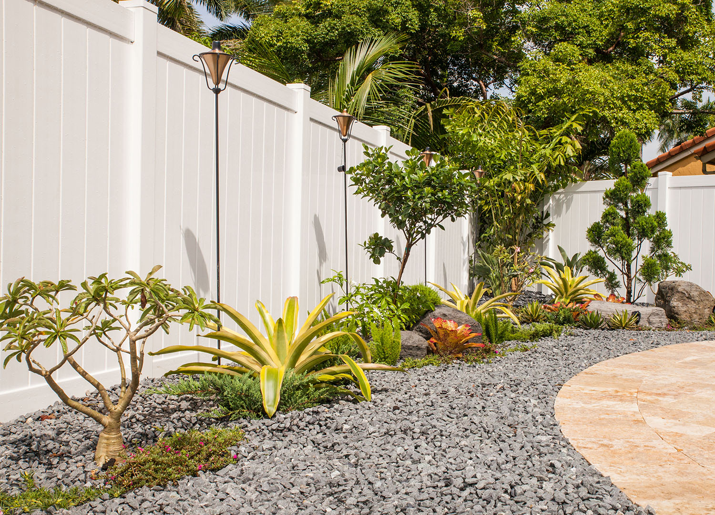 Xeriscape landscaping idea South Florida