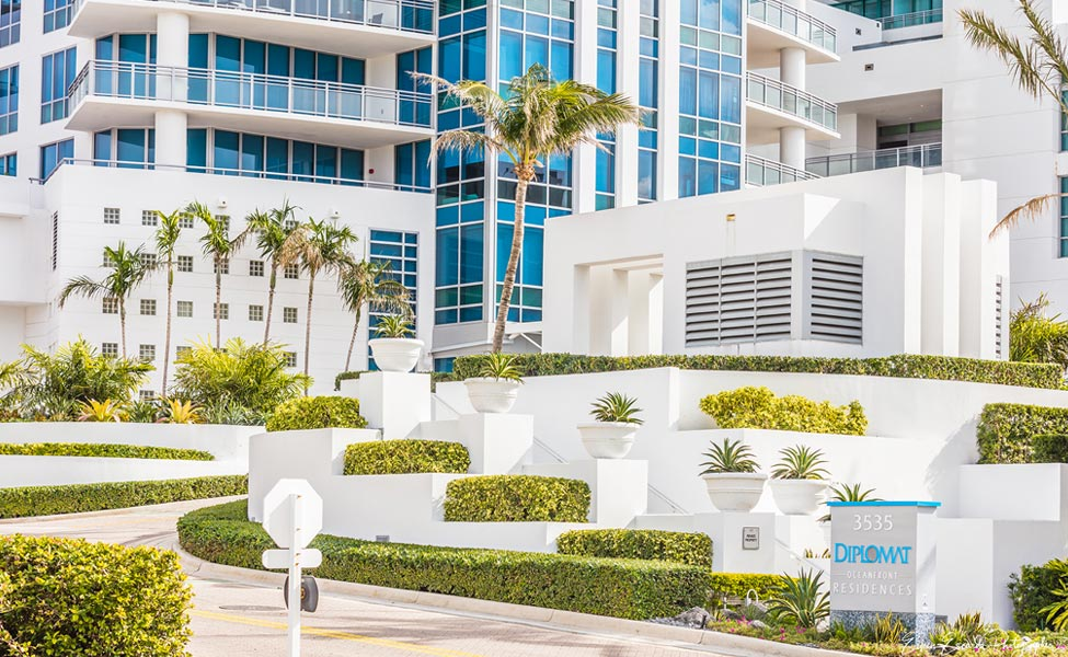 Commercial Landscaping Hollywood Beach South Florida