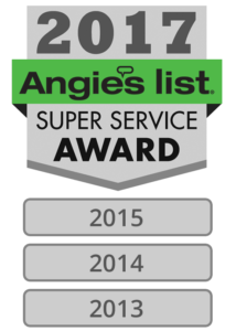 Super Service Award Winner 2017