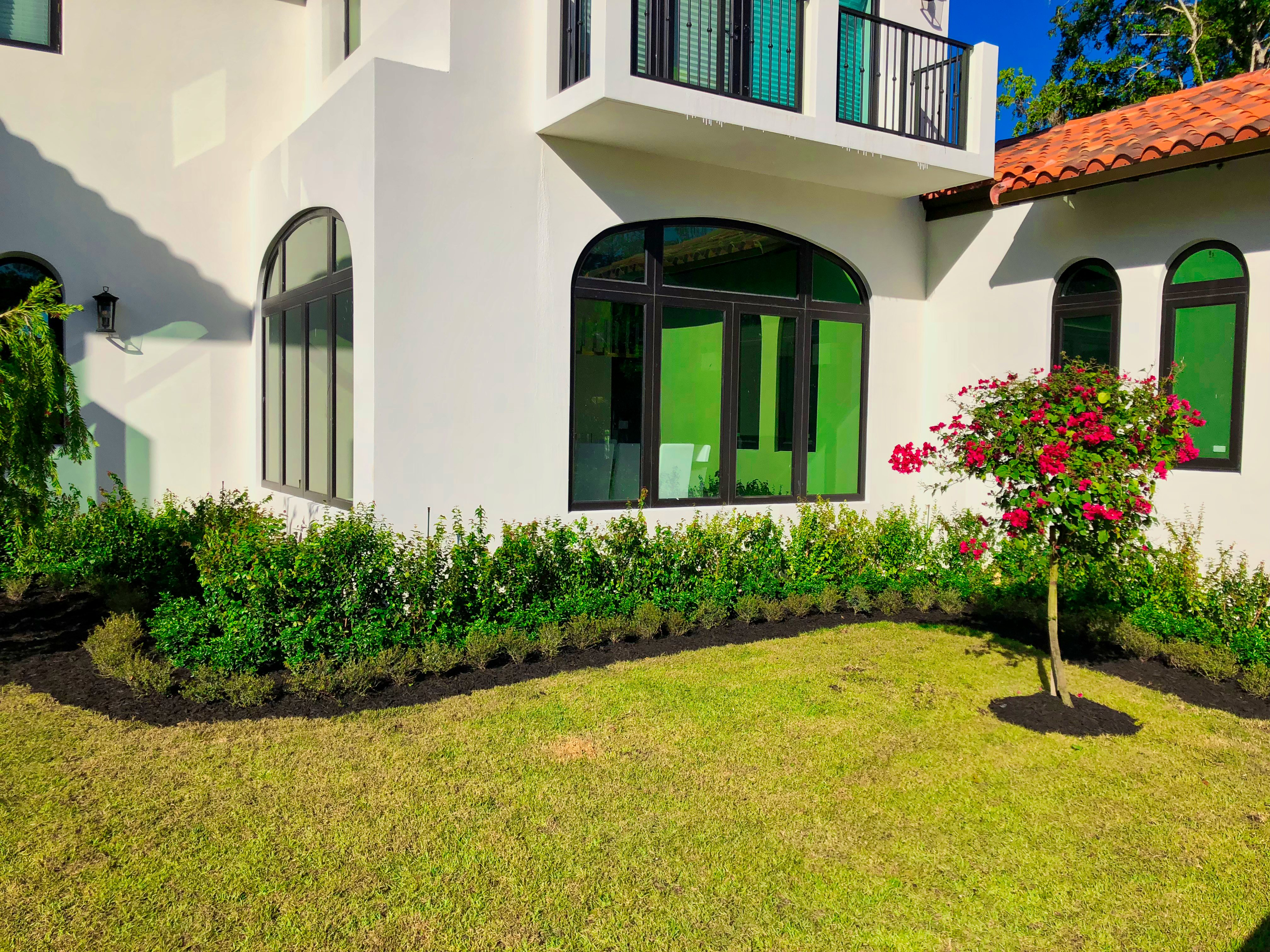 Pink and Green | Residential Landscaping Company ... on Backyard Landscaping Companies Near Me id=65029